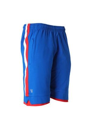 Sportive Spt Erkek Mavi Basketbol Şort Tku100102-sax