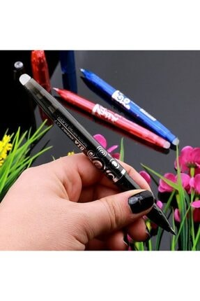BIANI Silinebilen Tükenmez Kalem ( Uçan Kalem ) Siyah Renk