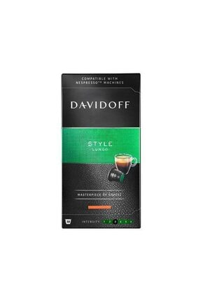 Davidoff Lungo Style Kapsül Kahve 10 Adet (Nespresso Uyumlu)