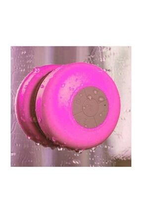 OEM Su Geçirmez Mini Bluetooth Duş Hoparlörü Pembe