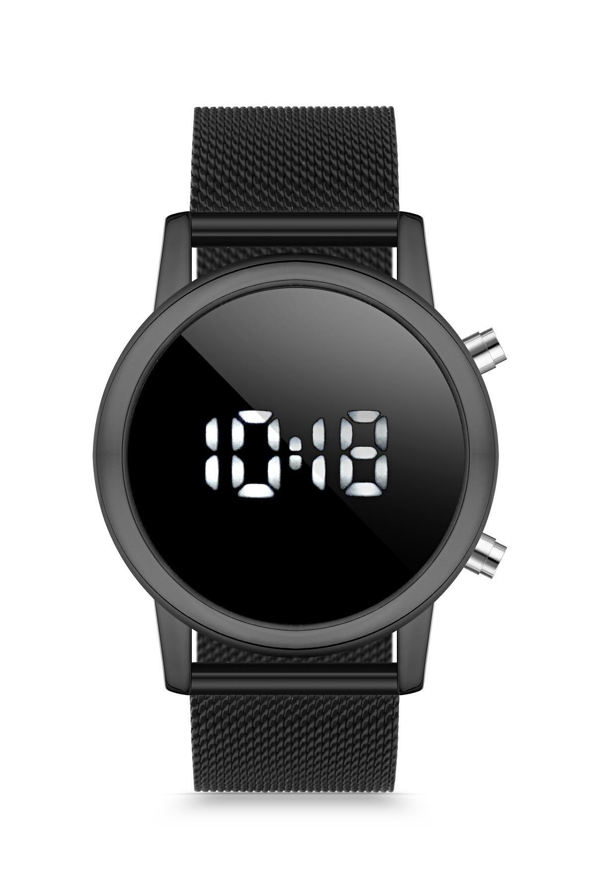Duke Nickle Duj1009 Unisex Kol Saati Hasır Siyah 1