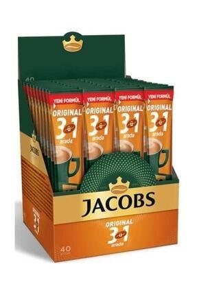 Jacobs 3 In 1 Arada Mix Eco 16 gr. 40 Adet