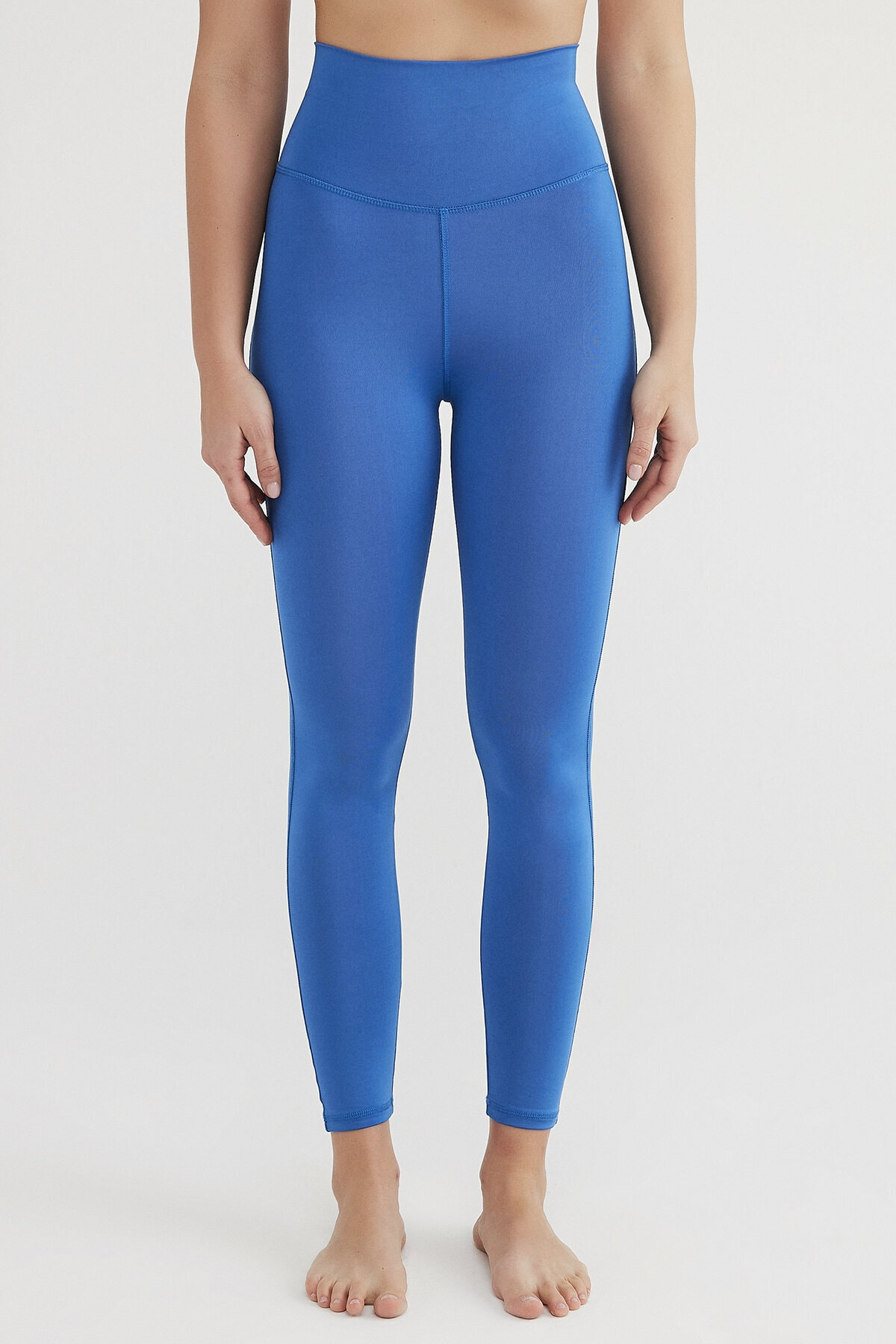 Penti Kadın Mavi Süper Stretchy Yüksek Bel Tayt