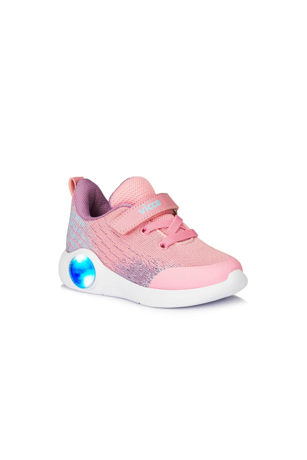 Vicco Kız Bebek Neo Pembe Spor Ayakkabı 1