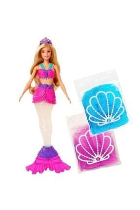 Barbie Bebek Dreamtopia Slime Kuyruklu Deniz Kızı Hayaller Ülkesi  D:2