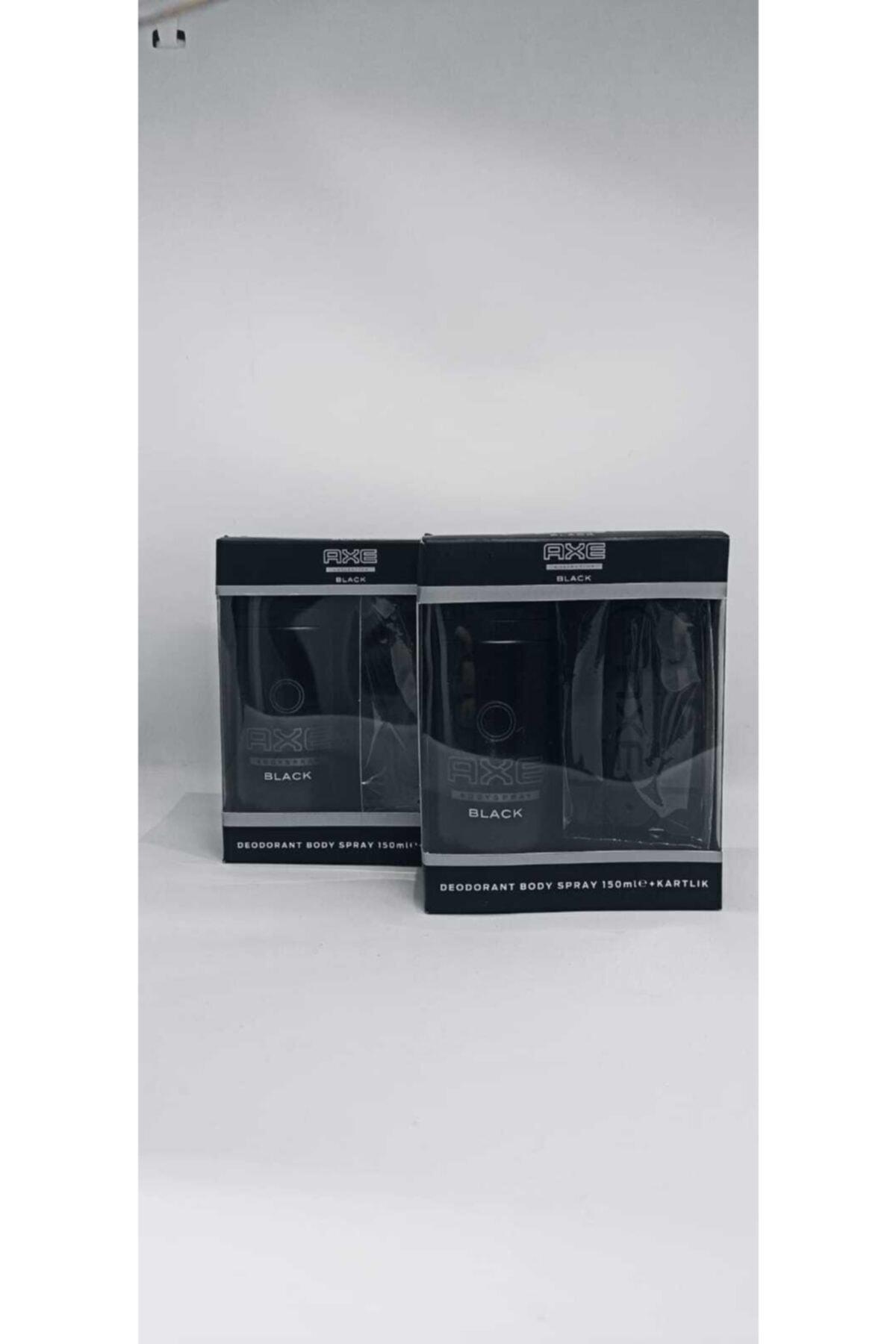 Axe Black Deodorant 150 Ml + Kartlık 2x 1