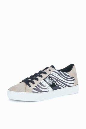 Guess Grasey Kadın Beyaz Sneaker