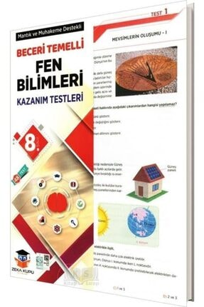 Zeka Küpü Yayınları Zeka Küpü 8.sınıf Fen Bilimleri Yaprak Test