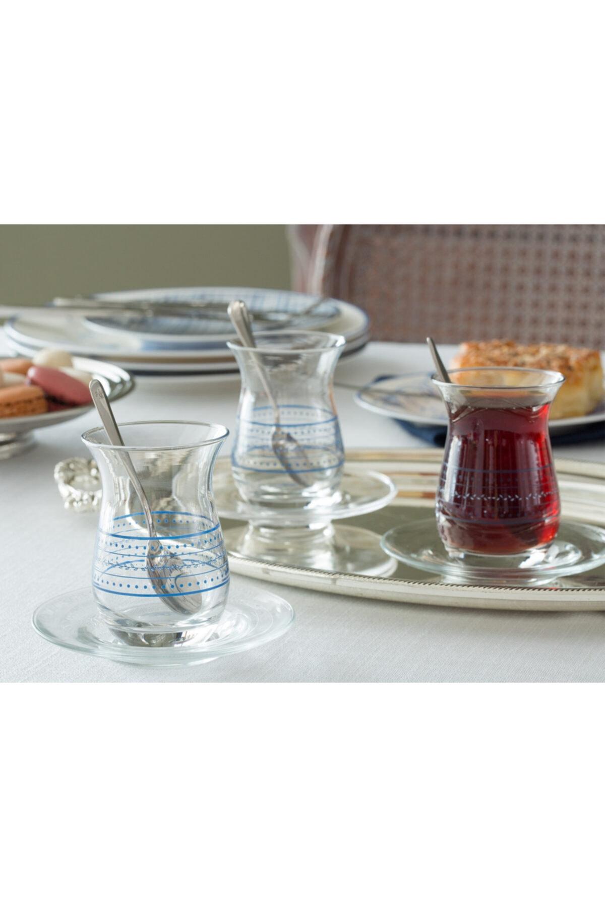 Madame Coco Mathis 6'lı Çay Bardağı 168 ml 1