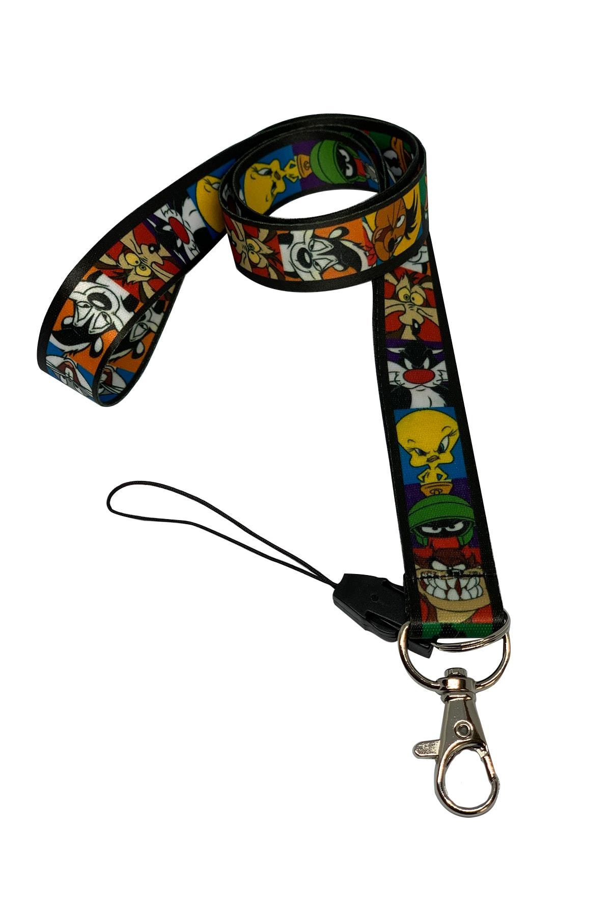 StormiStoretr Looney Tunes Boyun Ipi Ve Telefon Askısı 2