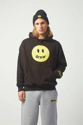 Trendiz Drew Oversıze Sweatshirt Siyah Tr30004