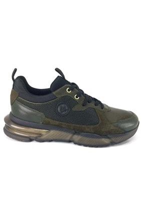 MARCOMEN Haki Süet Klasik Kışlık Erkek Ayakkabısı