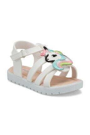 Polaris 512280.B Beyaz Kız Çocuk Sandalet 100499274