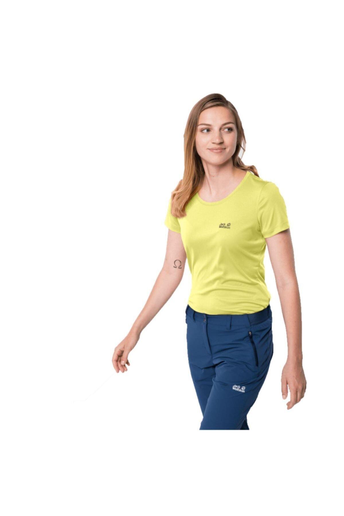 Jack Wolfskin Tech Kadın Outdoor T-shirt 2