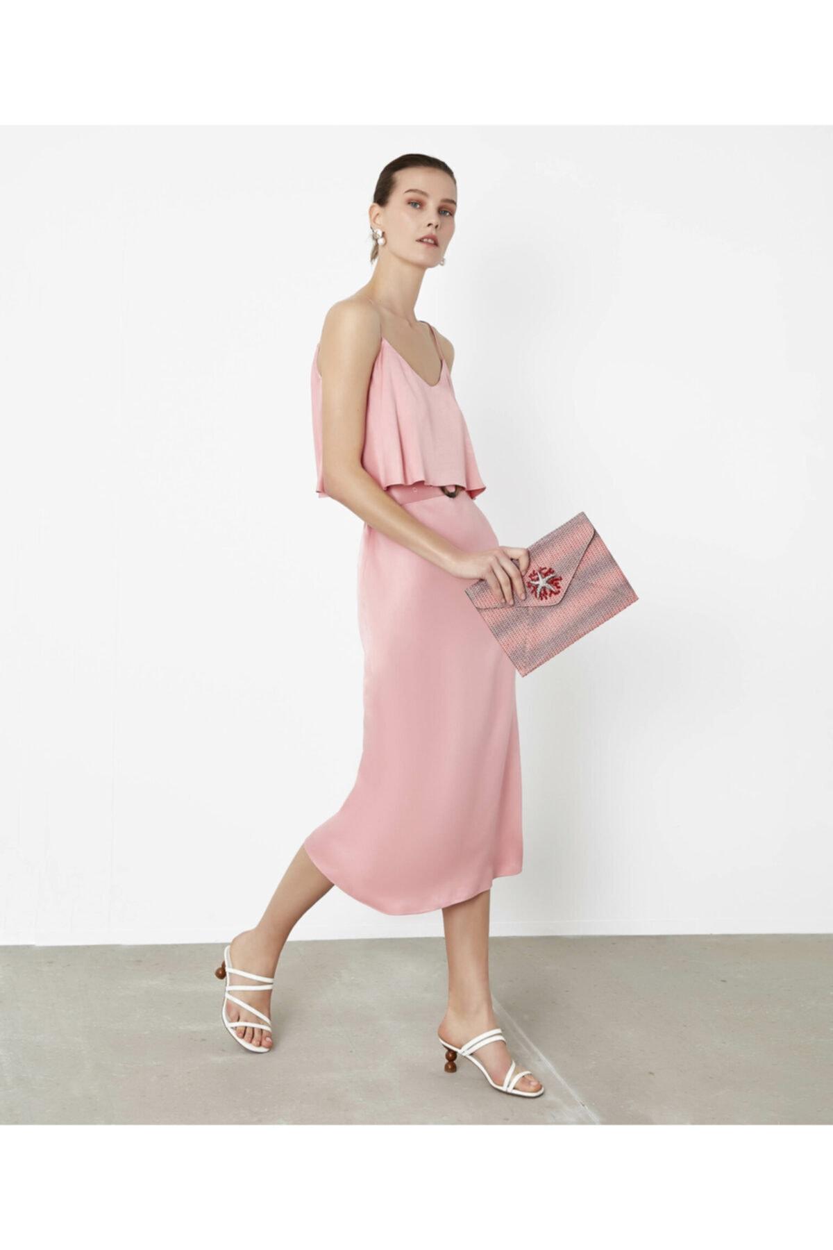 İpekyol Askılı Elbise 2