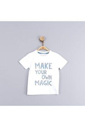 NK Kız Çocuk Beyaz N&k Magic Tshirt 44215