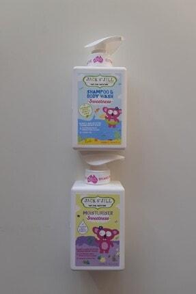 Jack And Jill Kids Sweetness Doğal Saç Ve Vücut Şampuanı + Nemlendirici (2'si Bir Arada