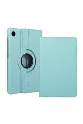 Huawei Matepad T10s Kılıf 360°dönebilen Deri Leather New Style Cover Case(mavi)