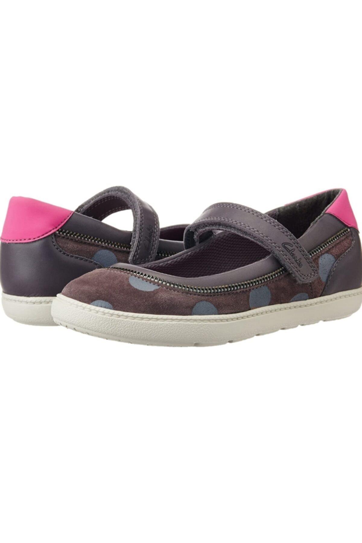 CLARKS Kız Zita Mary Çağdaş Mary-jane Tarzı Babet Ayakkabı 1