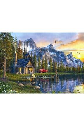 Anatolian Puzzle Anatolian Dağevinde Günbatımı / Sunset Cabin 1000 Parça Puzzle /