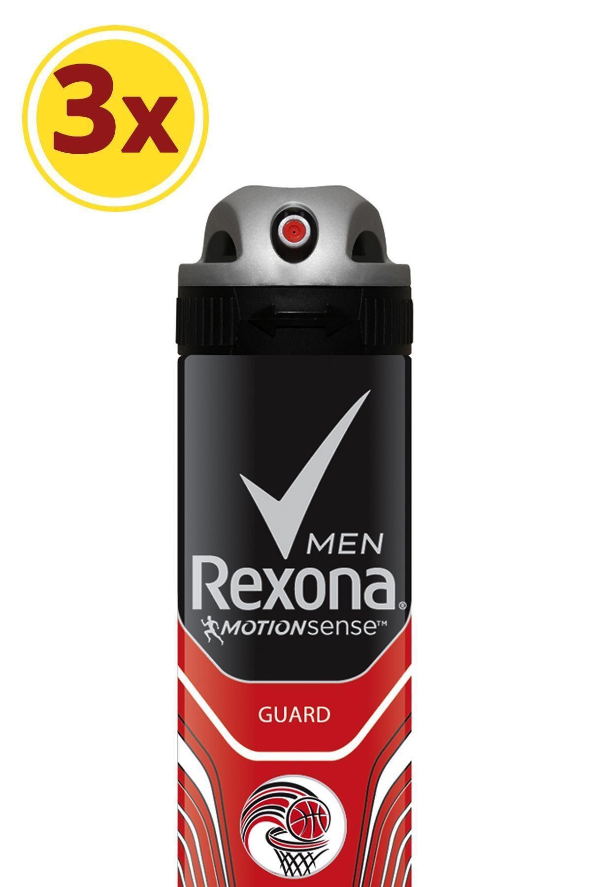 Rexona Erkek Deodorant Sprey Guard 150 ml X3 1
