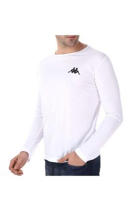 Kappa Poly T-shirt Uk Barew Beyaz