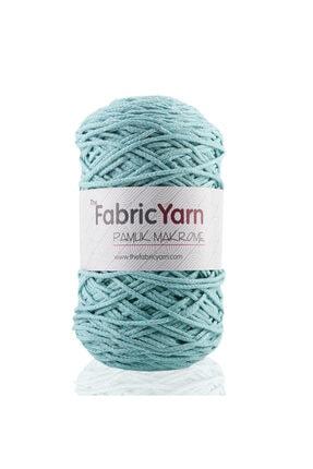 The Fabric Yarn Mint Pamuk Makrome Ip