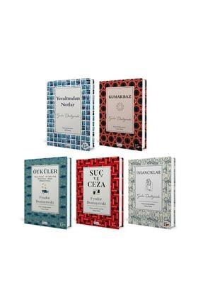 Koridor Yayıncılık Fyodor Dostoyevski - 5 Kitap Set (Kumarbaz, Insancıklar, Öyküler, Suç Ve Ceza, Yer Altından Notlar)