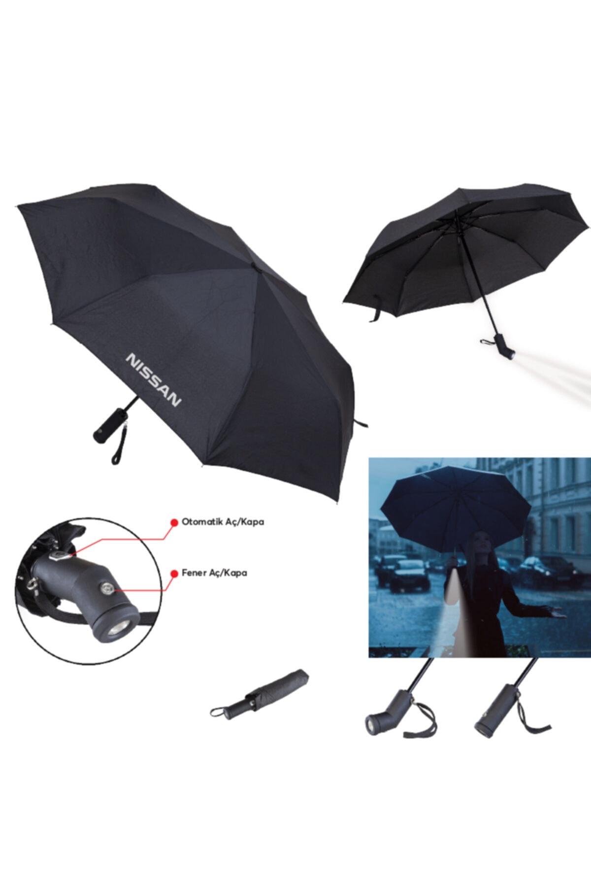 TREND 8 Telli Işıklı Şemsiye 1