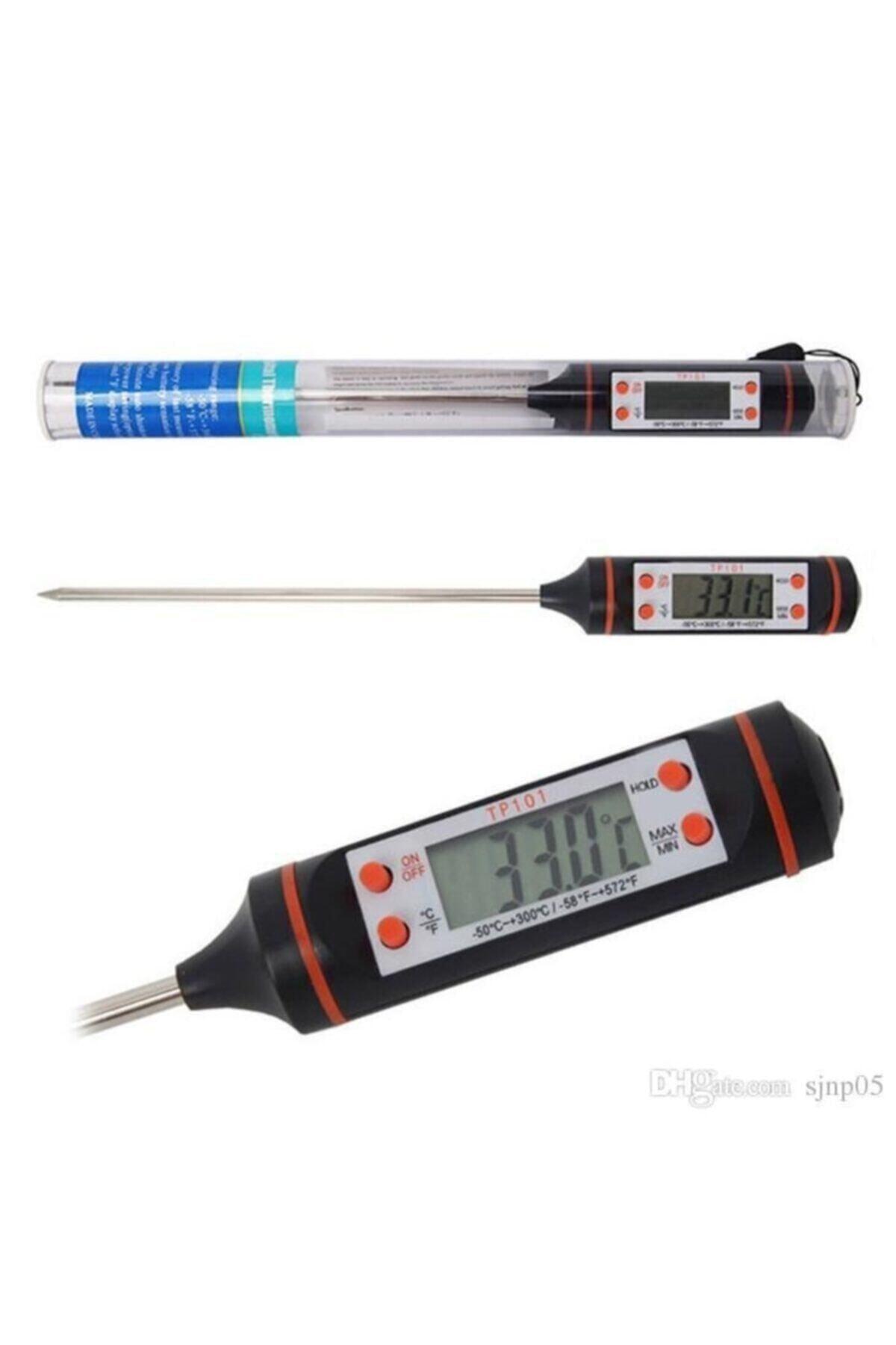 Kısmet Dijital Gıda Termometersi Sıvı Gıda,et,su,süt Yiyecek Sıcaklık Ölçer Mutfak Için Gıda Termometresi 1
