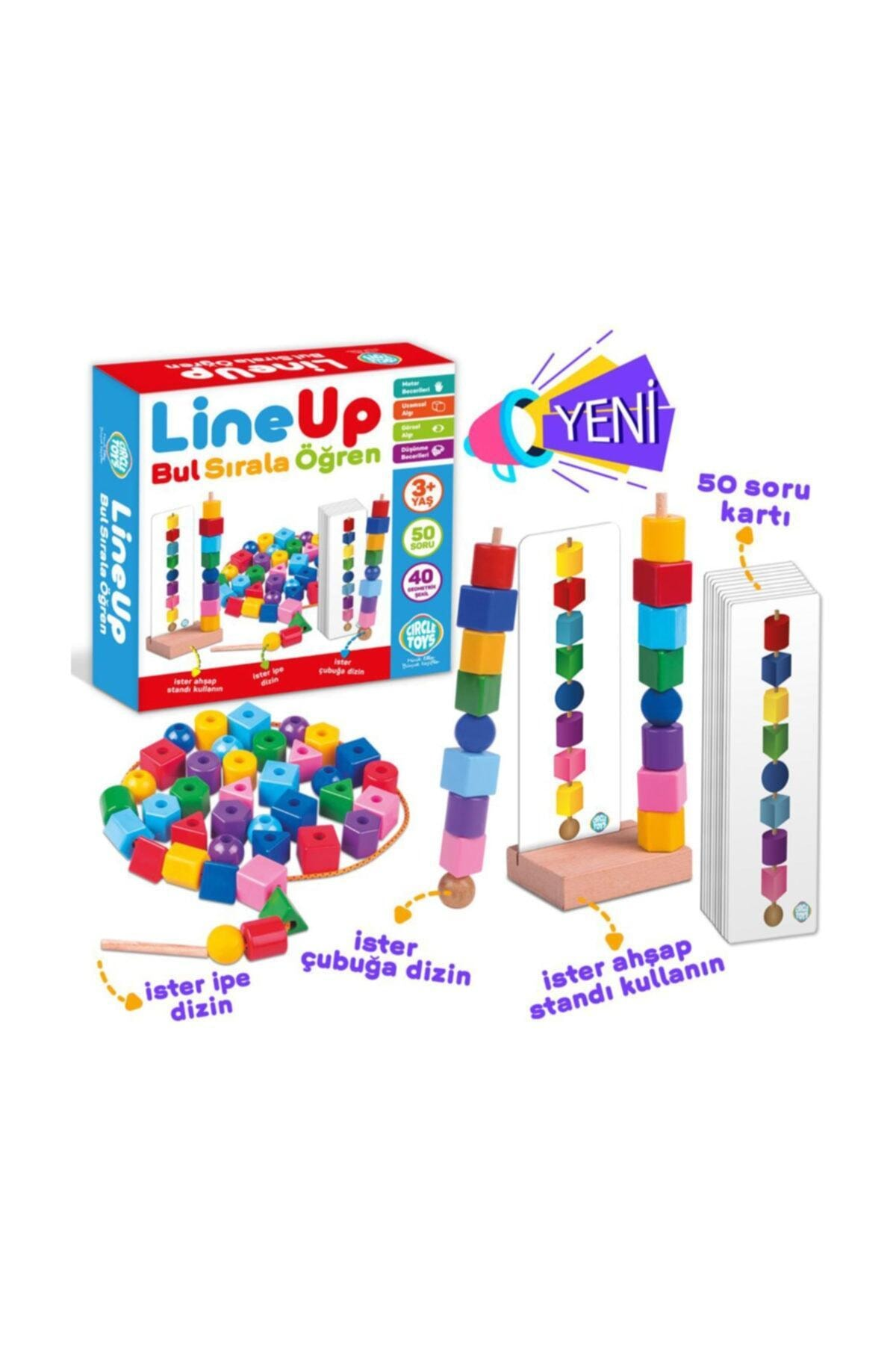 line up Circle Toys Line Up  Bul Sırala Öğren 2