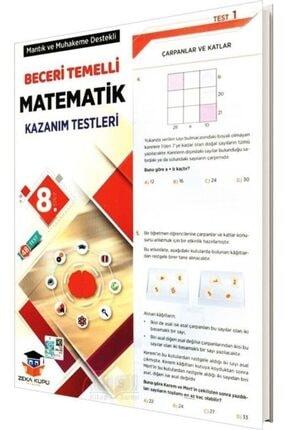 Zeka Küpü Yayınları Zeka Küpü 8.sınıf Matematik Yaprak Test
