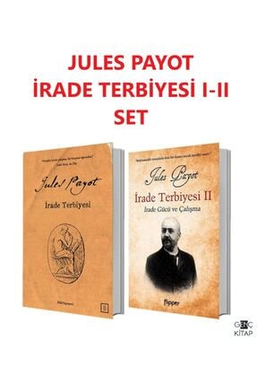 Ediz Yayınevi Irade Terbiyesi 1-2 Jules Payot 2 Kitap Set