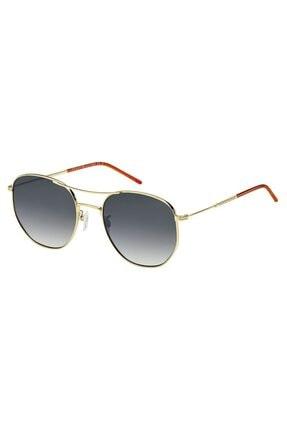 Tommy Hilfiger Unisex Sarı Güneş Gözlüğü Th 1619/g/s J5g 57 9o