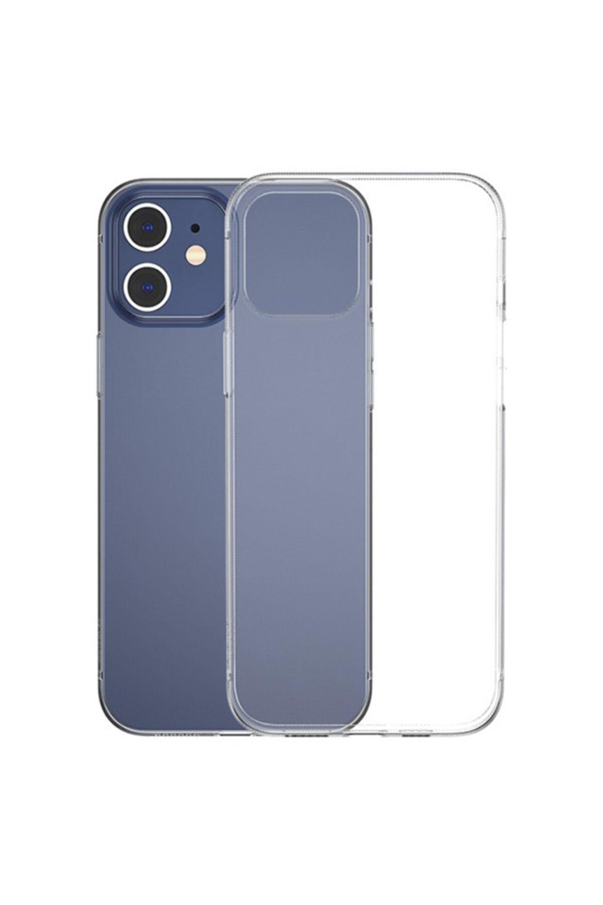 Baseus Simple Case Iphone 12 6.1 Ince Şeffaf Silikon Kılıf 2