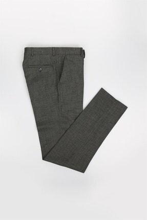Jakamen Antrasit Slim Fit Desenli Erkek Pantolon