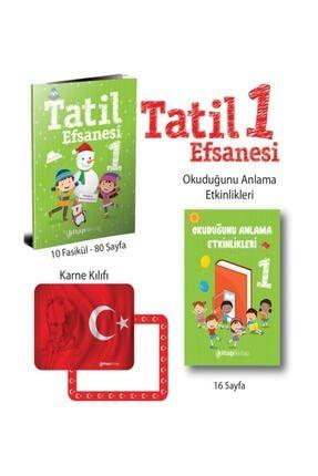 Kırmızı Beyaz Yayınları Yayıncılık 1.sınıf Tatil Efsanesi Seti Yarıyıl Tatil Kitabı