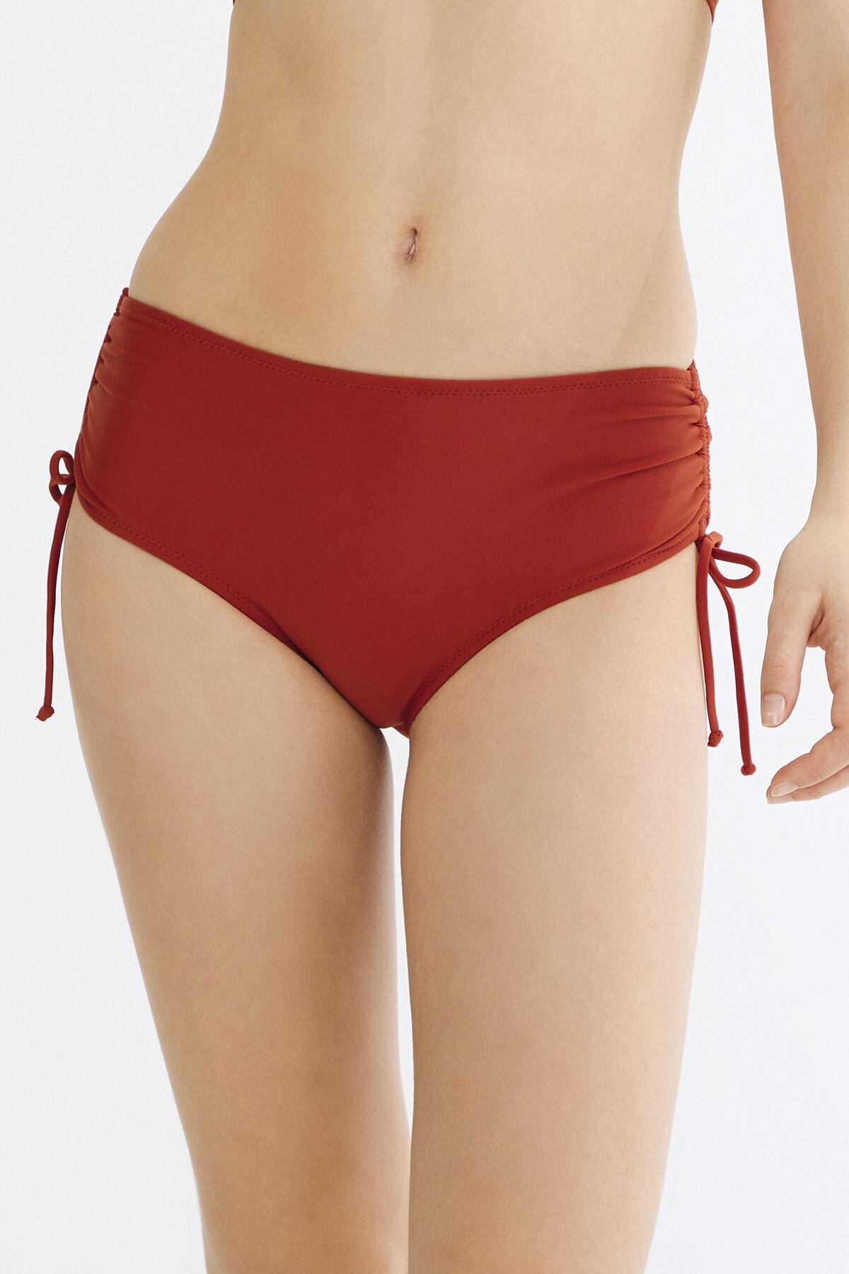 Penti Turuncu Basic Yüksek Bel Ring Bikini Altı 2