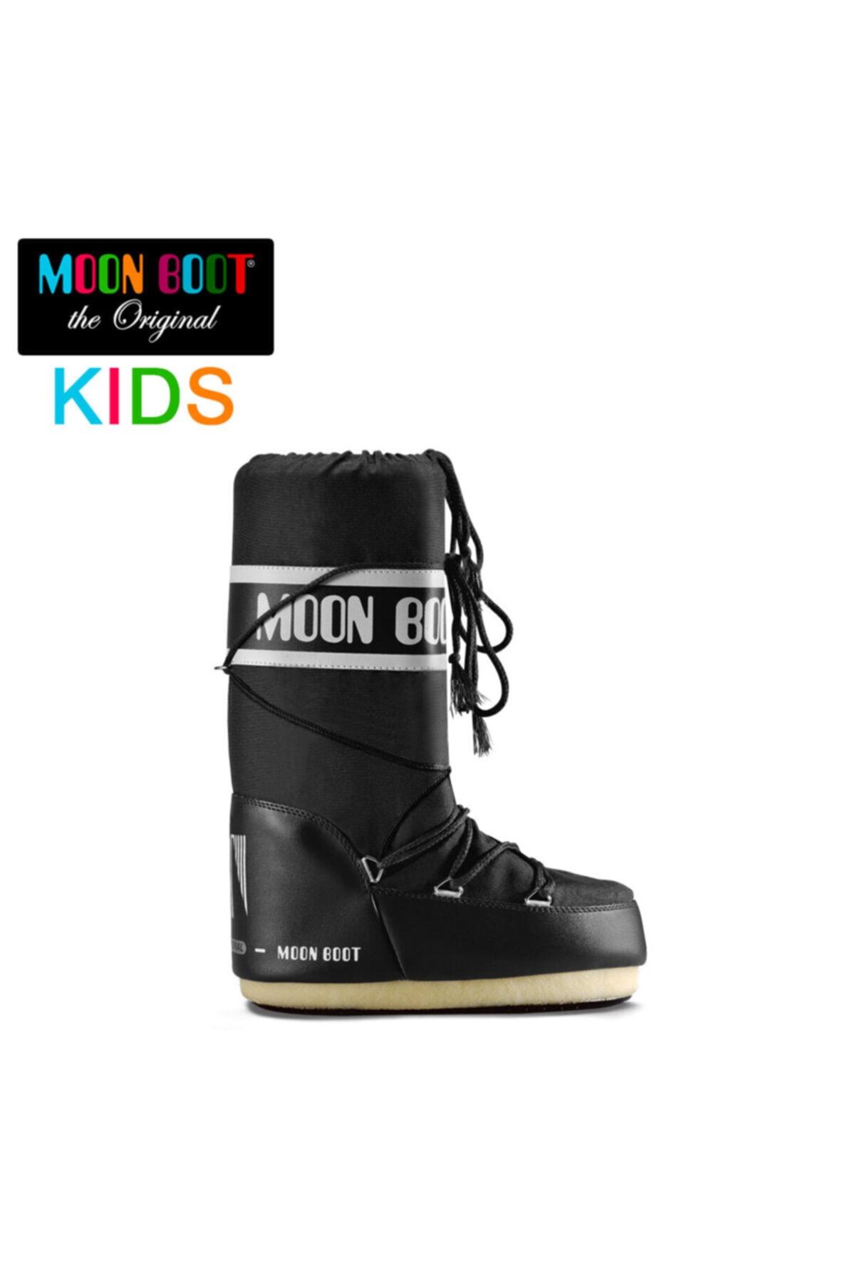 MOON BOOT Siyah Erkek Kar Botu 14004400-001 Nylon Black (23-26) 1