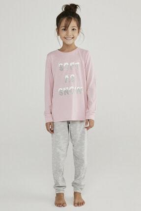 Penti Çok Renkli Kız Çocuk Hot Tech Snow 2li Pijama Takımı