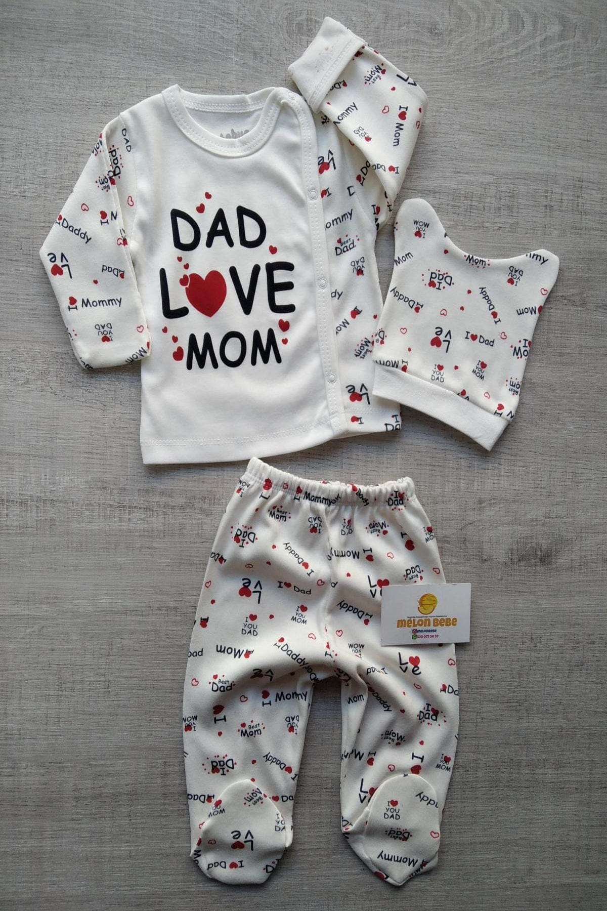 Bebek Exclusive Bebek Pijama Takım 1