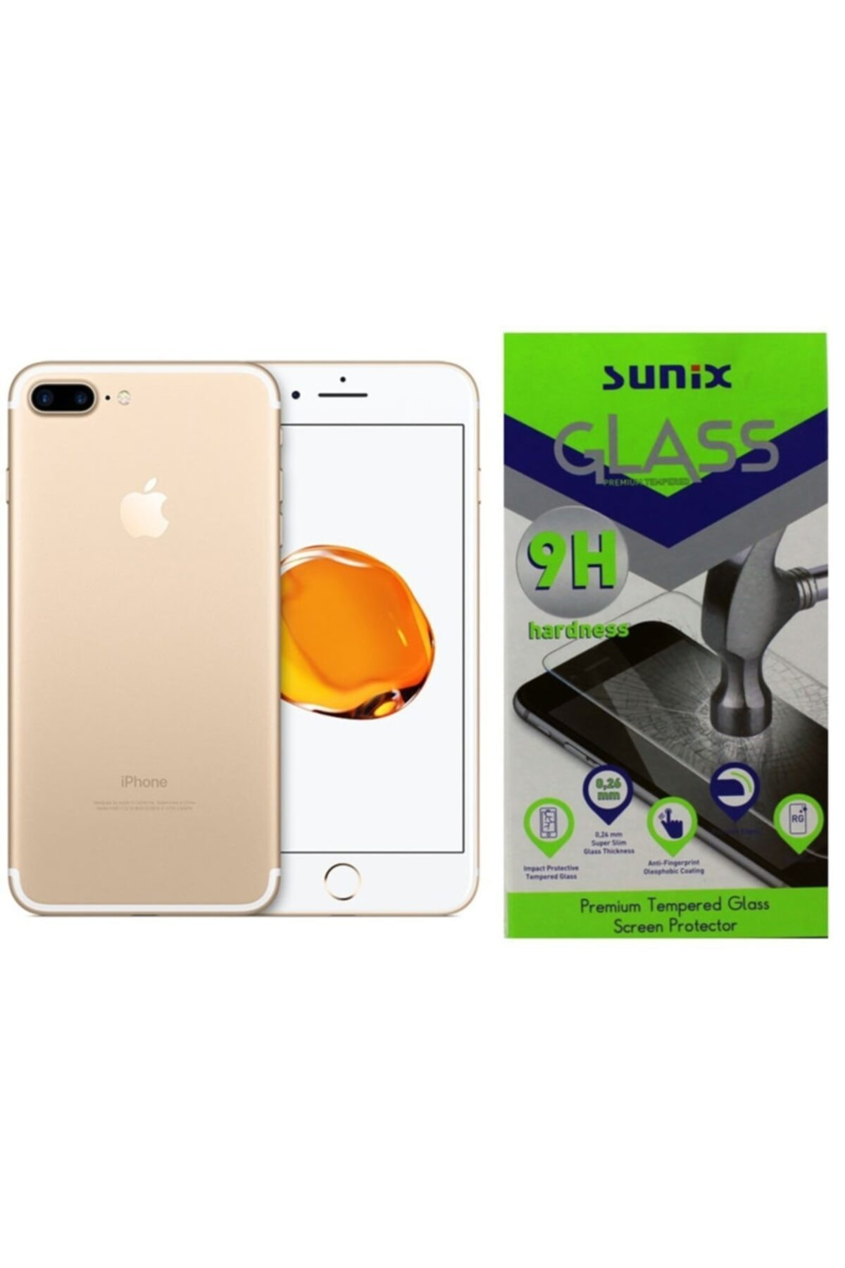 Sunix Iphone 6s Plus - 7plus - 8plus Ekran Koruyucu Film 1