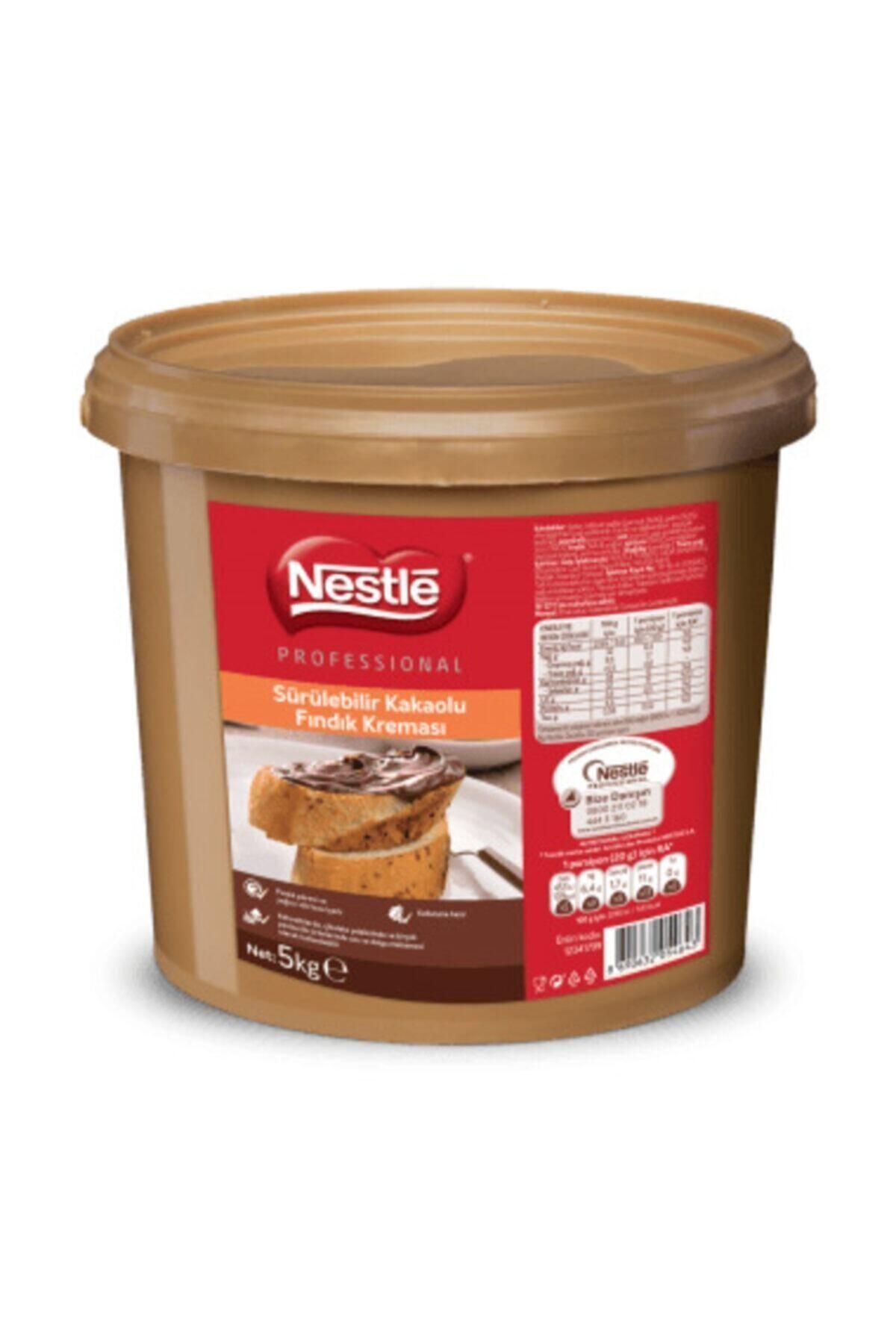 Nestle Professional Kakaolu Fındık Kreması 5 Kg 1