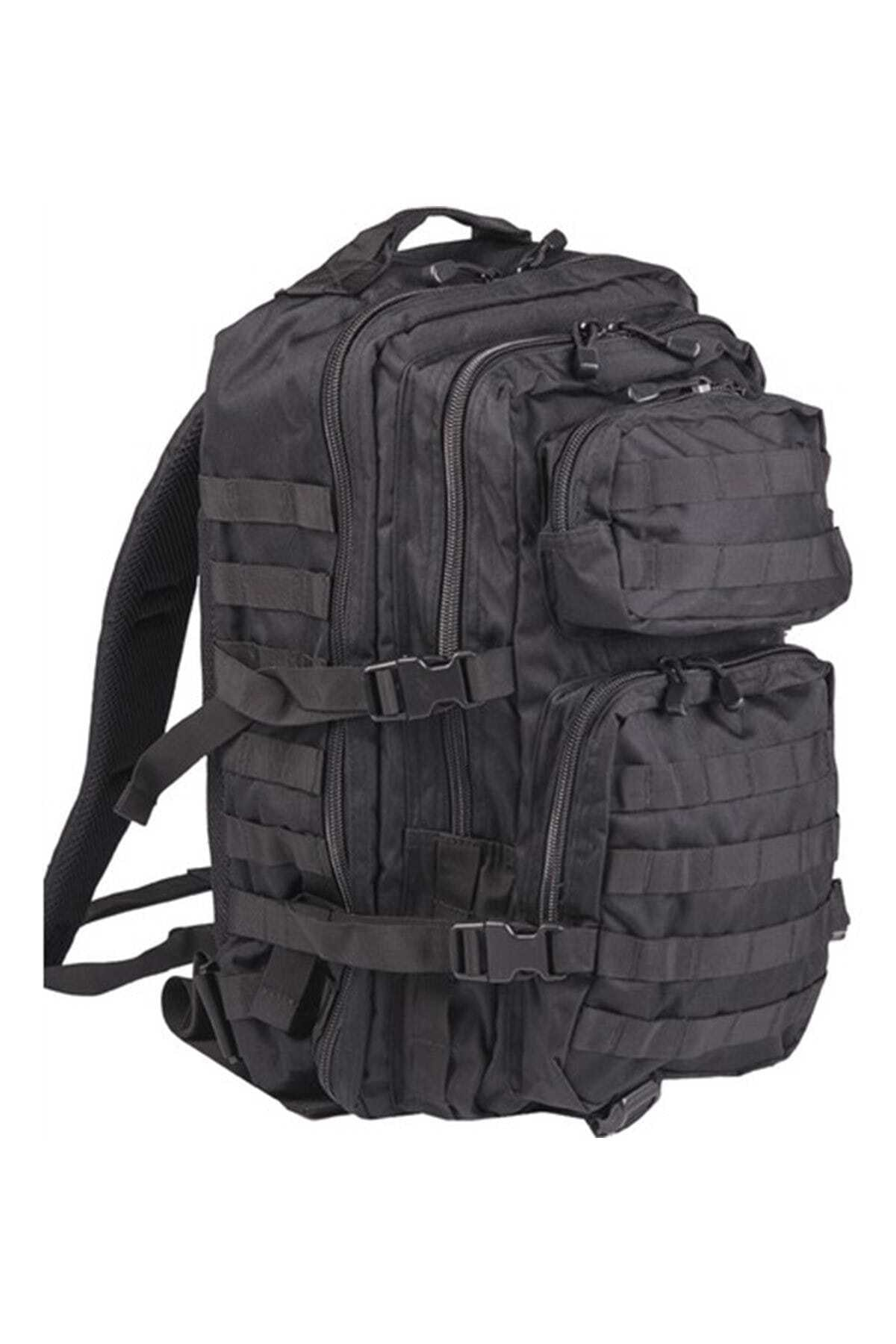 Mil-Tec Unisex Outdoor Ve Taktikal 36lt Çanta 14002202 Siyah 1