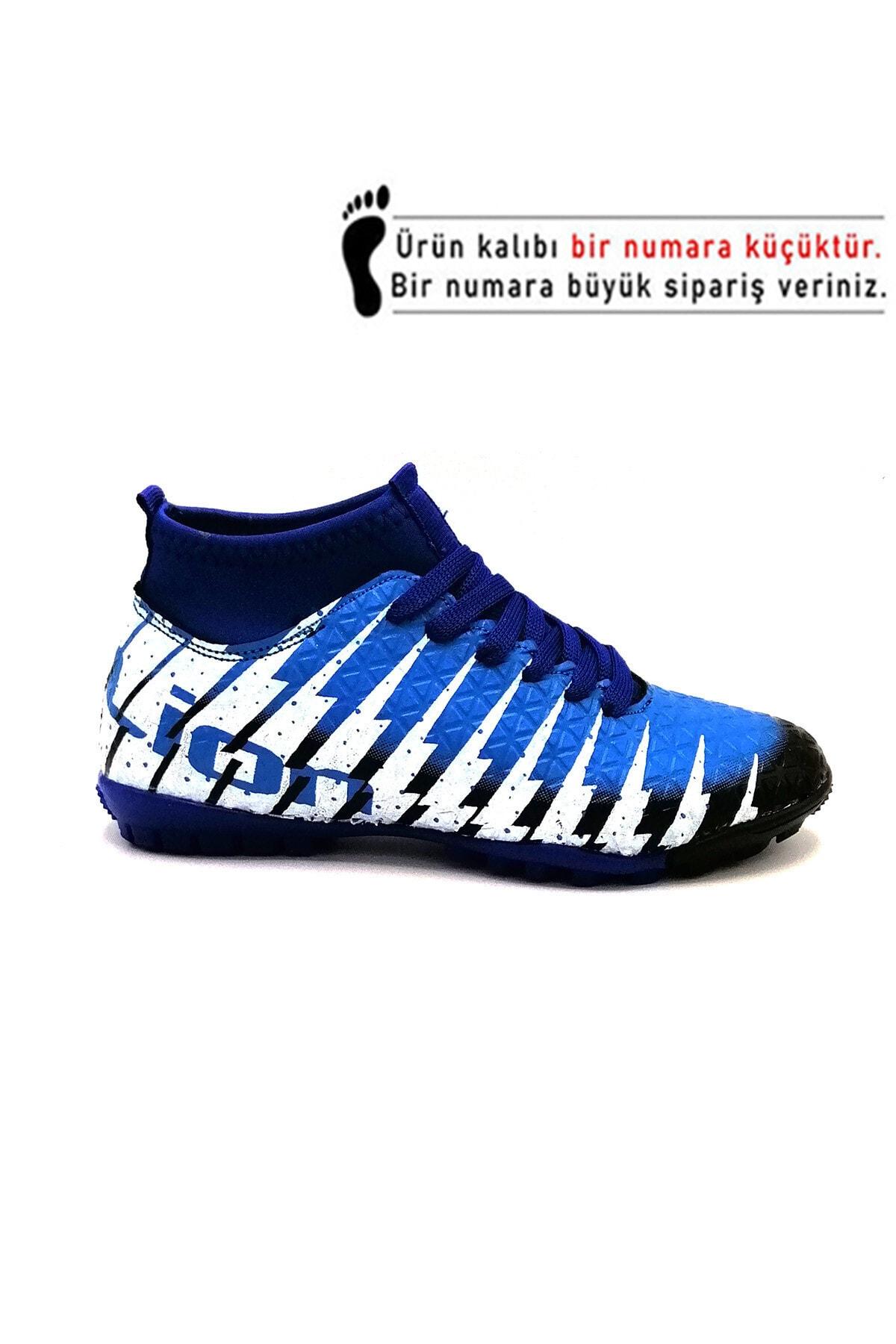 Lion Erkek  Siyah Sax Çoraplı Halısaha Futbol Ayakkabısı 1453 2