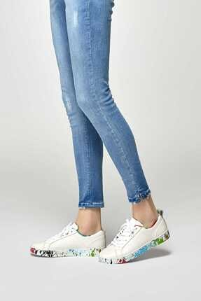 lumberjack Beyaz Kadın Ayakkabı Vella
