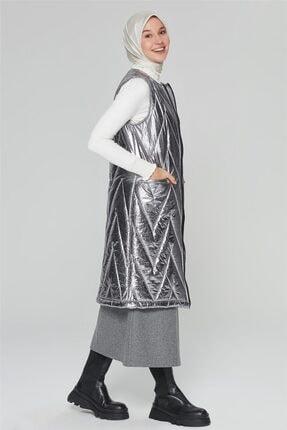 Armine Varak Yelek 20ka4202 Gümüş