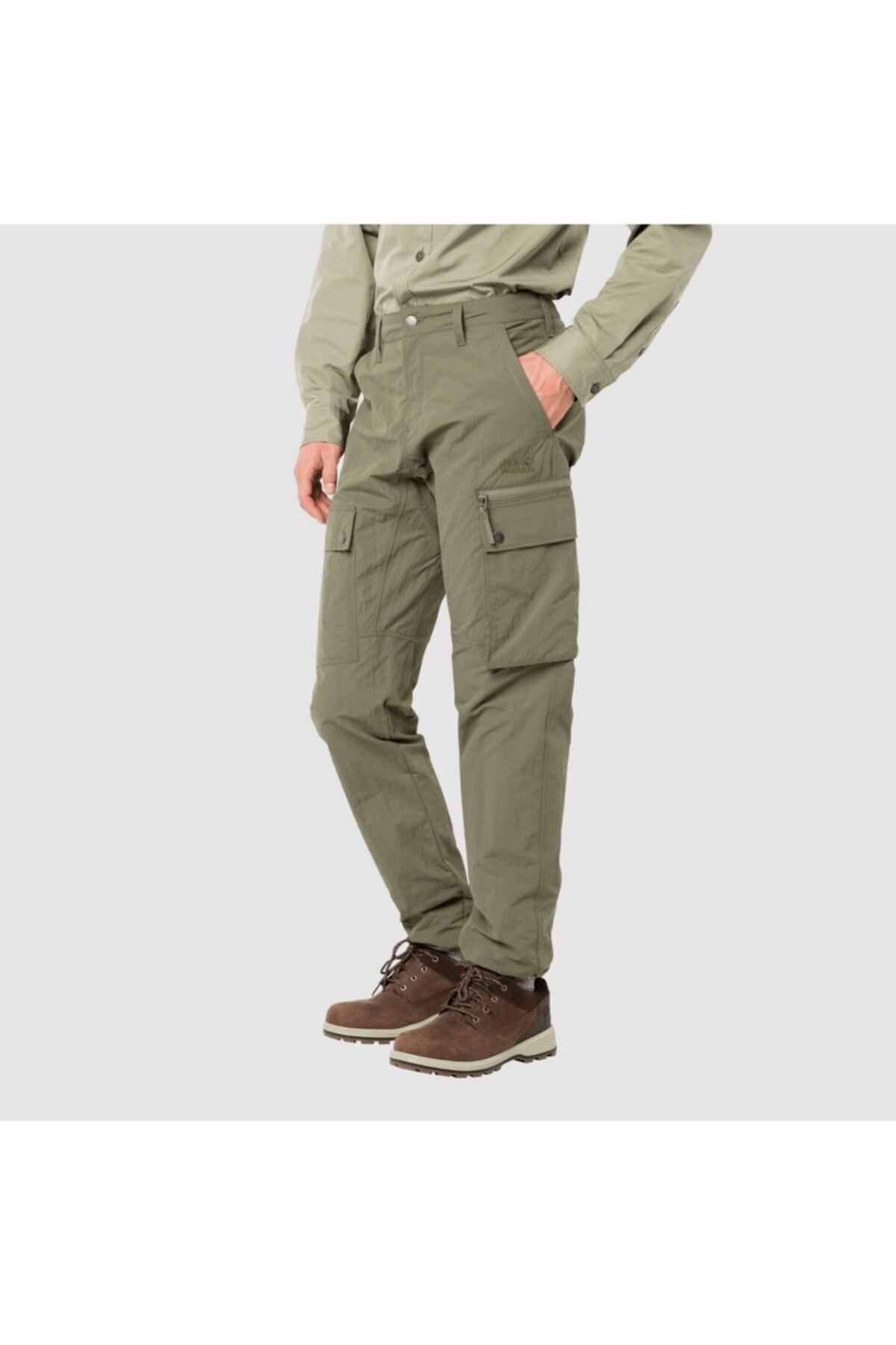 Jack Wolfskin Lakesıde Pants M Khaki 1