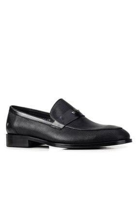 Cabani Kösele 367 Enj Taban Ayakkabı-(ms)-siyah Baby Bufalo