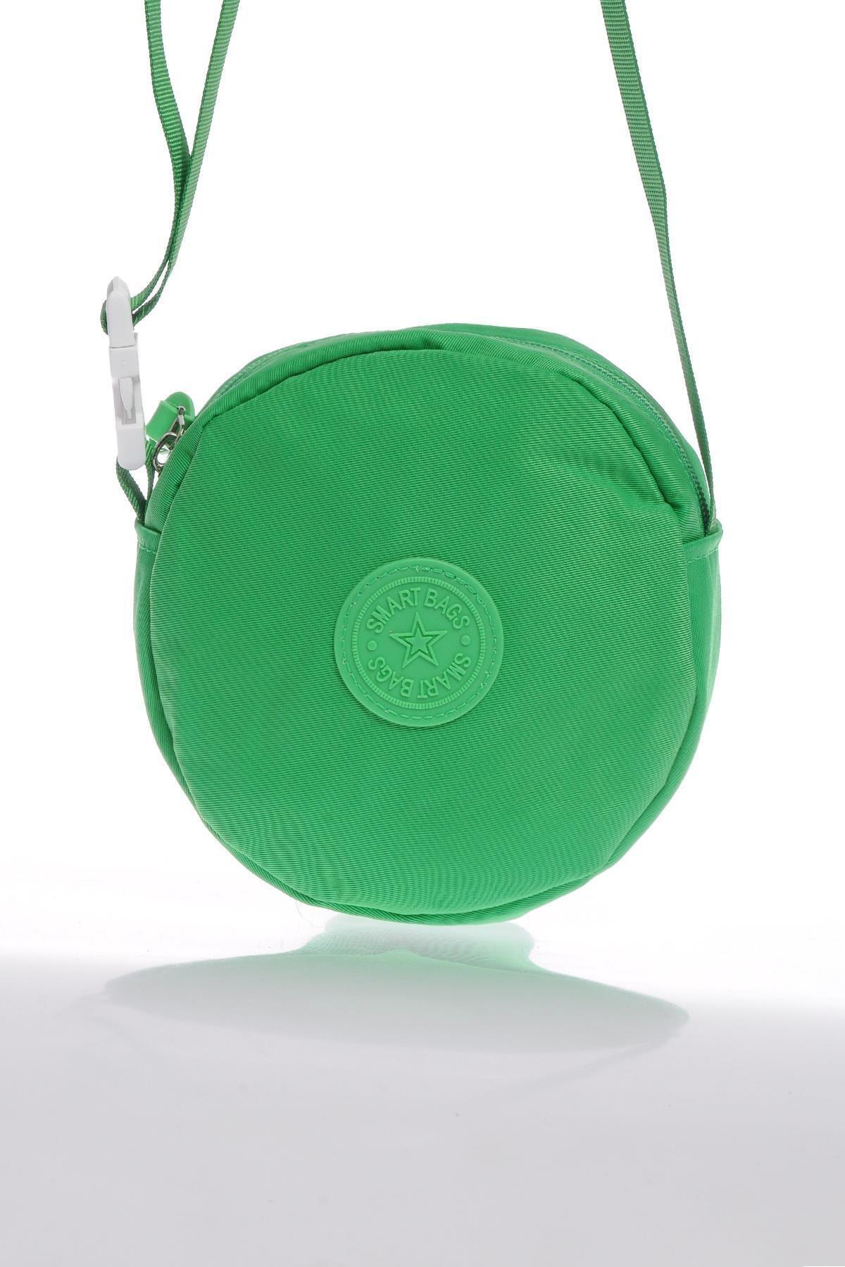 SMART BAGS Smb6001-0069 Yeşil Kadın Minik Çapraz Çanta 1
